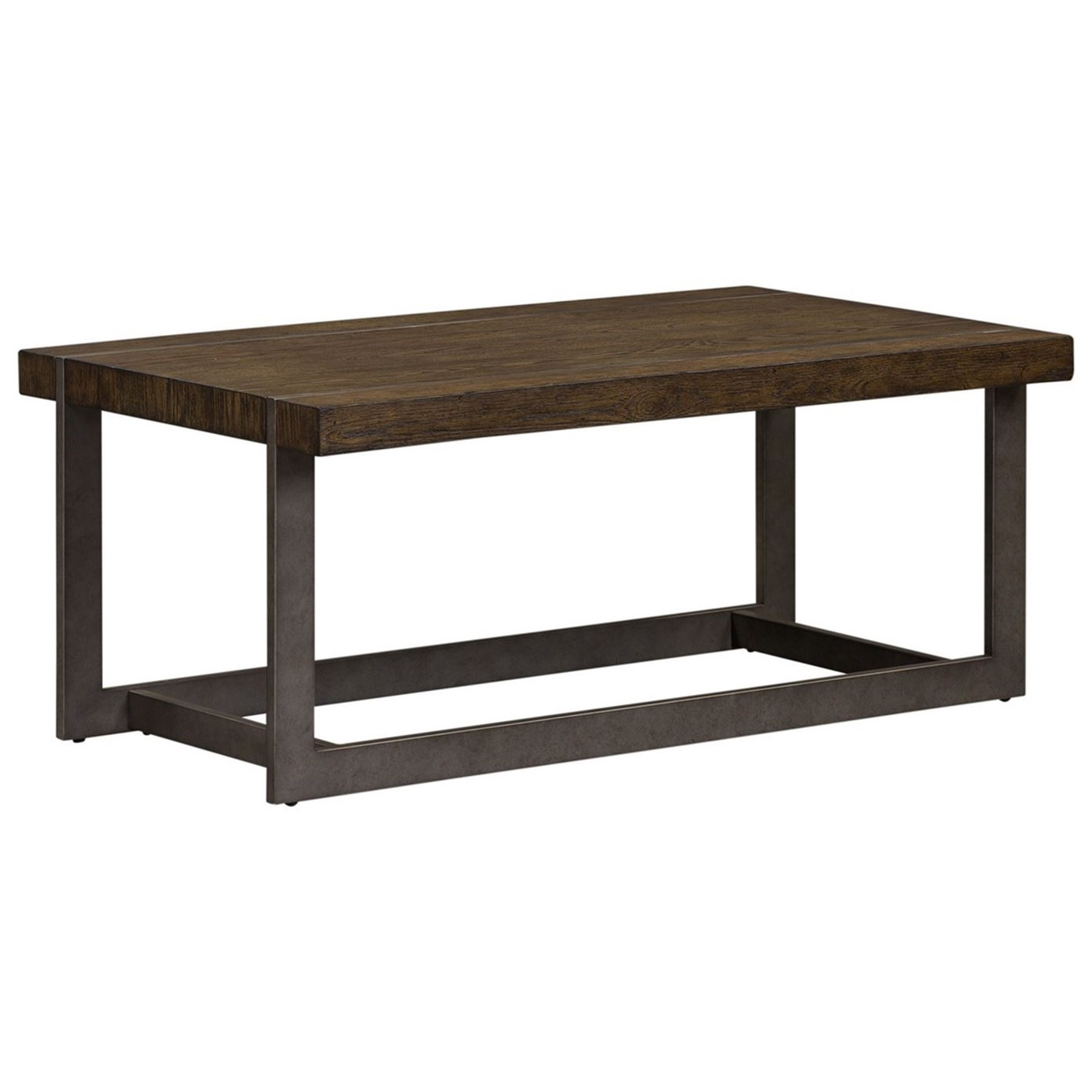Seldon Cocktail Table by Libby at Walker's Furniture