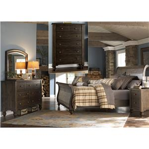 Liberty Furniture Southern Pines King Bedroom Group
