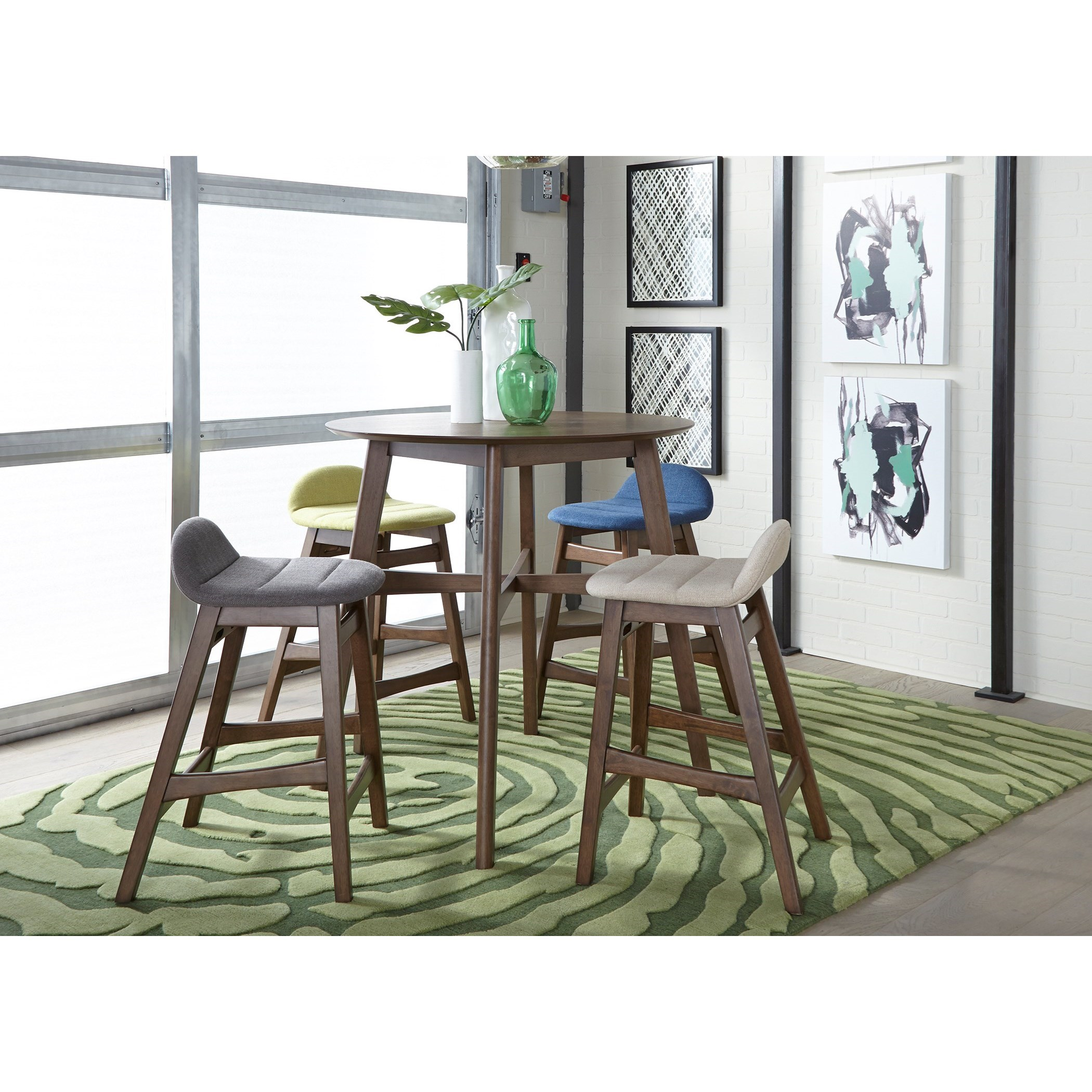 Space Savers 5-Piece Gathering Table Set  by Libby at Walker's Furniture