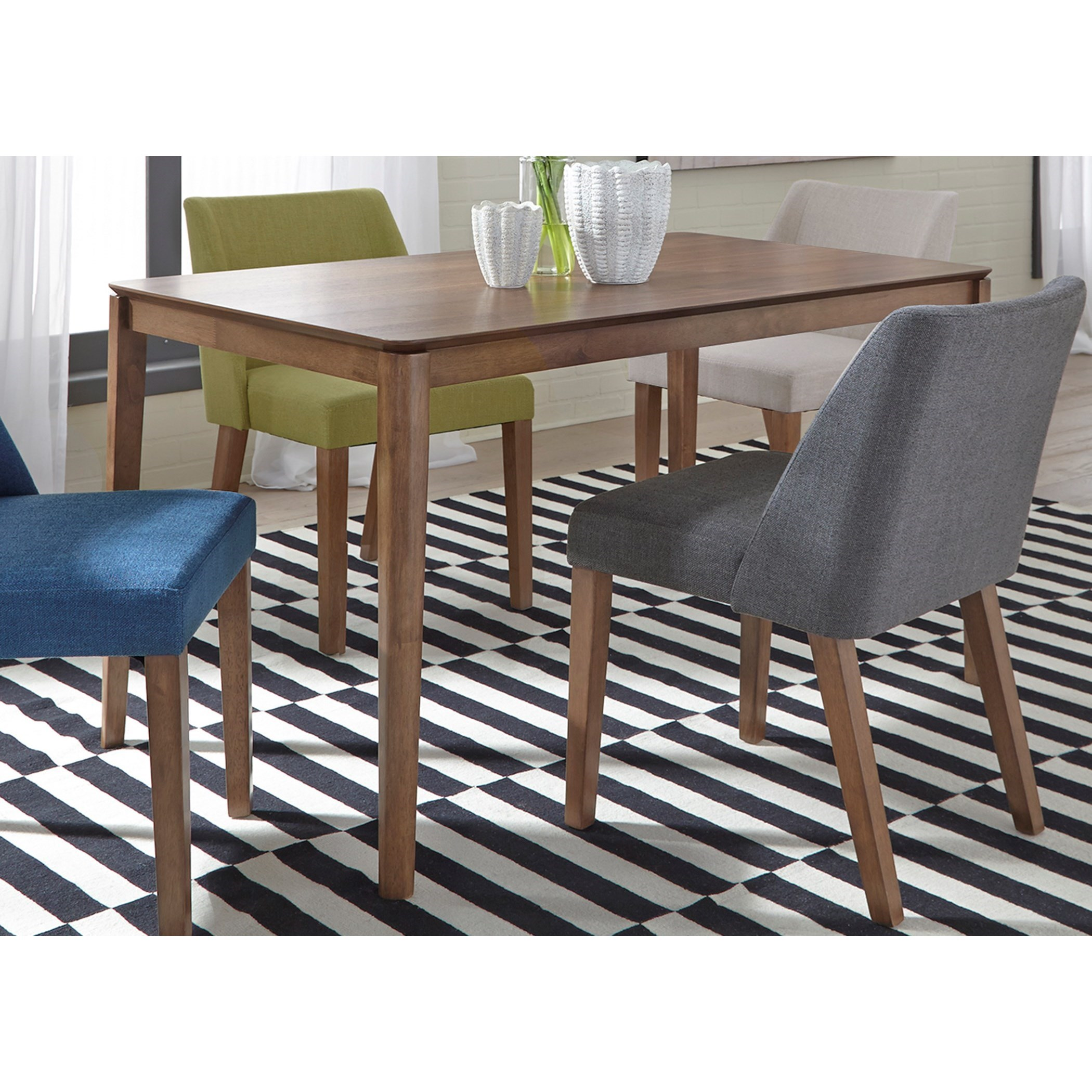Space Savers Rectangular Leg Table by Libby at Walker's Furniture