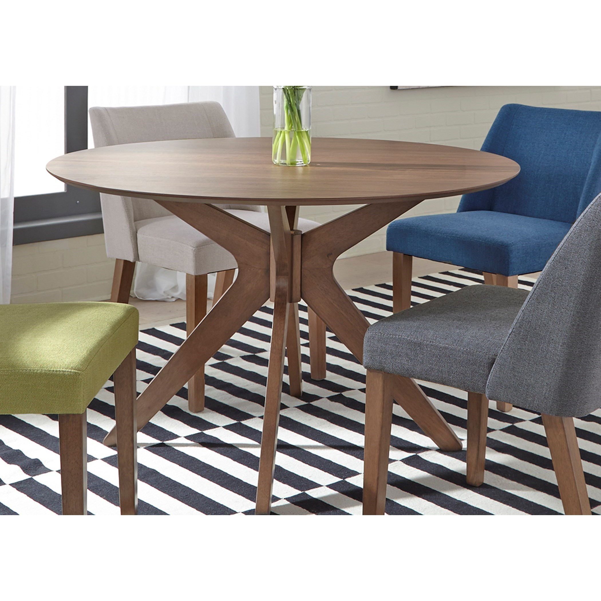 Space Savers Round Pedestal Table by Libby at Walker's Furniture