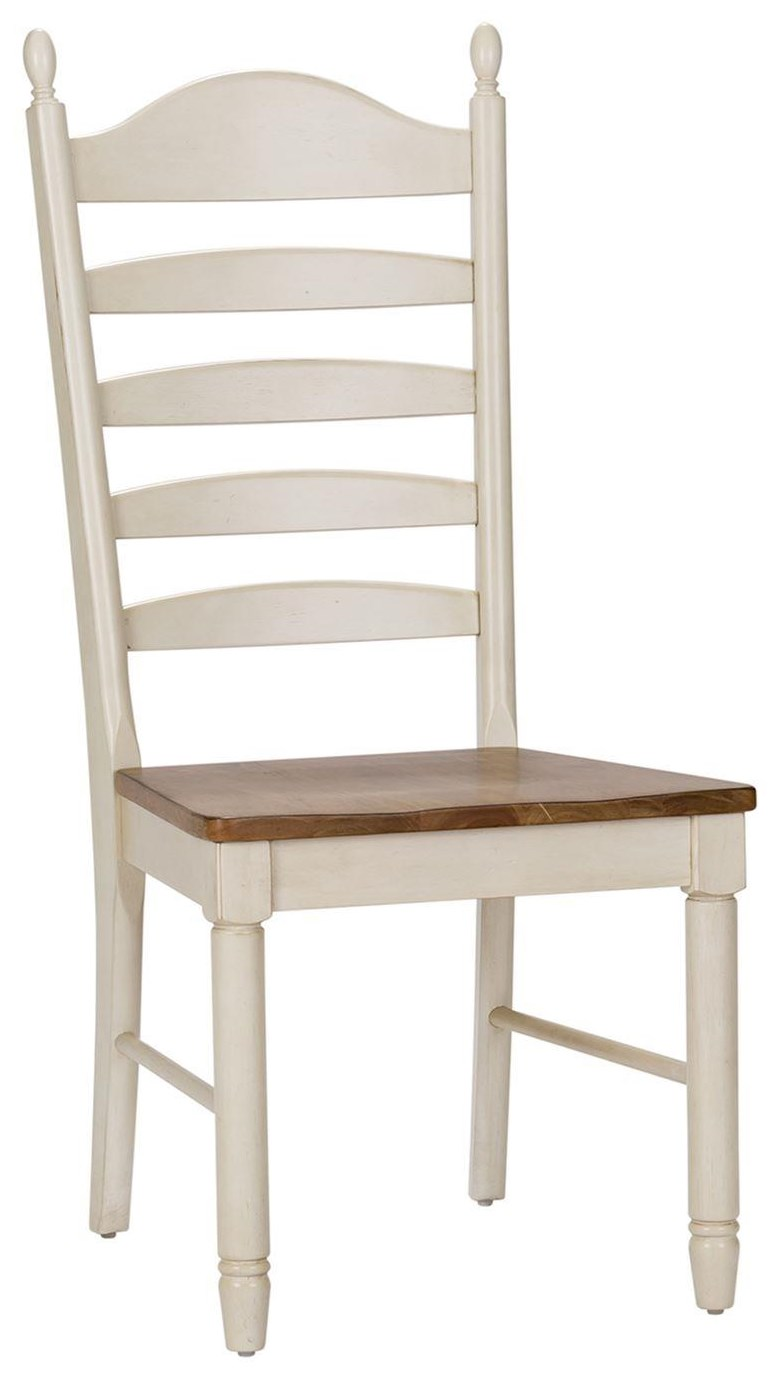 Springfield Dining Ladder Back Side Chair by Freedom Furniture at Ruby Gordon Home