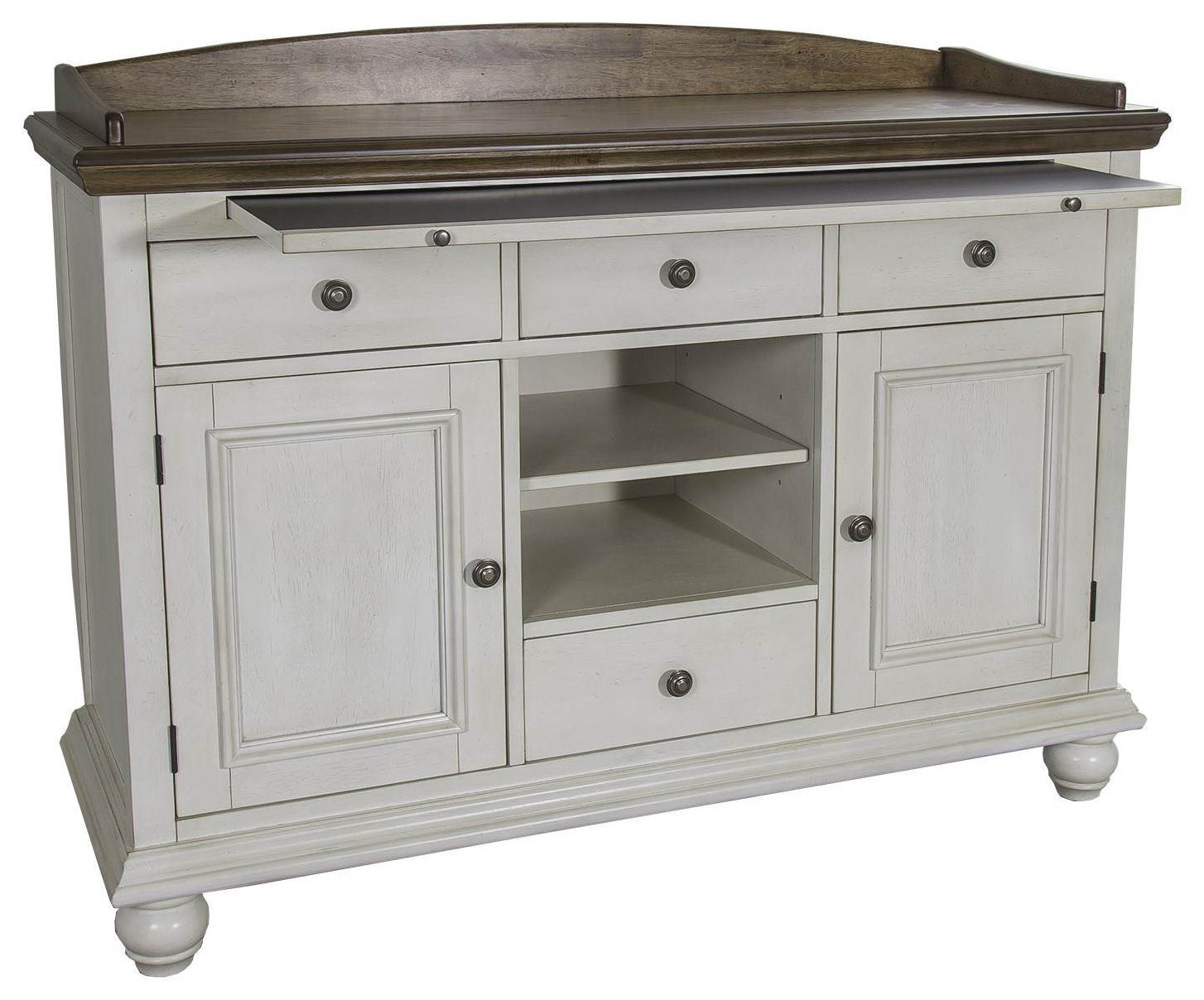 Springfield Dining 4 Drawer Sideboard by Freedom Furniture at Ruby Gordon Home