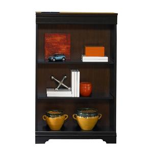Traditional 48-Inch Executive Open Bookcase