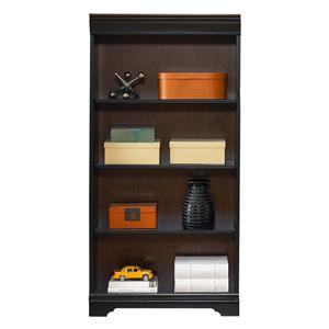 Traditional 60-Inch Executive Open Bookcase