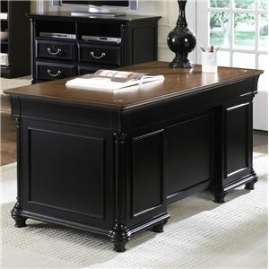 Jr Executive Double Pedestal Desk