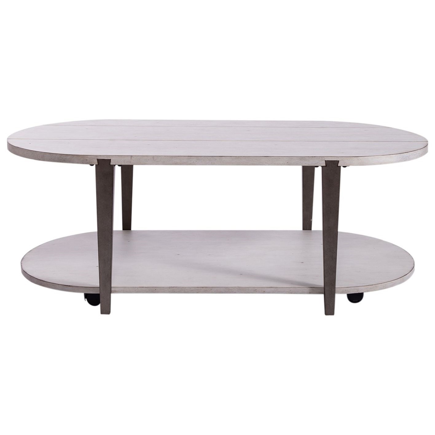 Sterling Oval Cocktail Table by Libby at Walker's Furniture