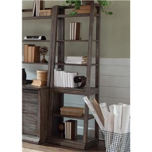 Leaning Bookcase with 6-Shelves