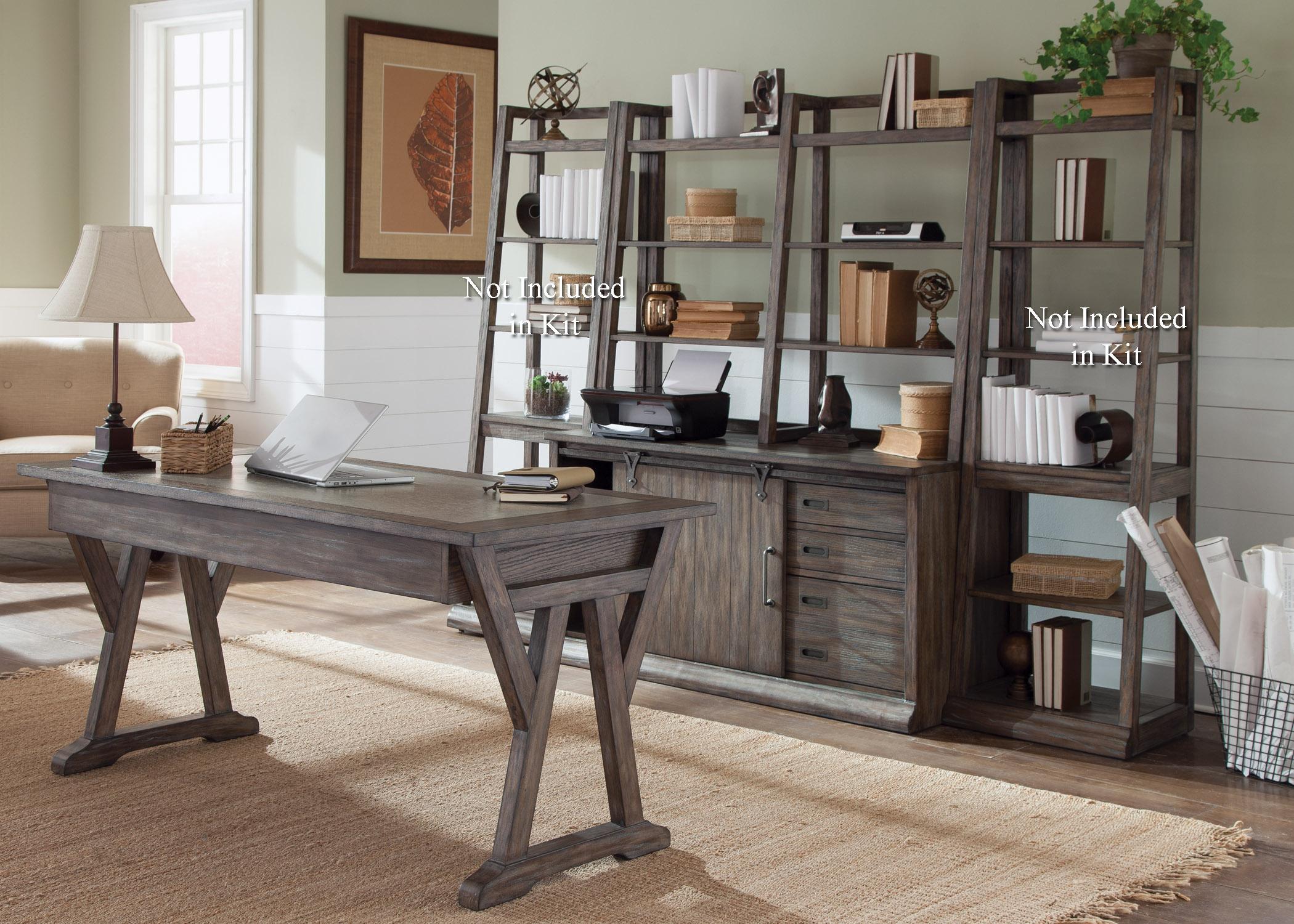 466-HOJ Complete Desk by Libby at Walker's Furniture