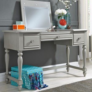 Vanity Desk with Three Dovetail Drawers