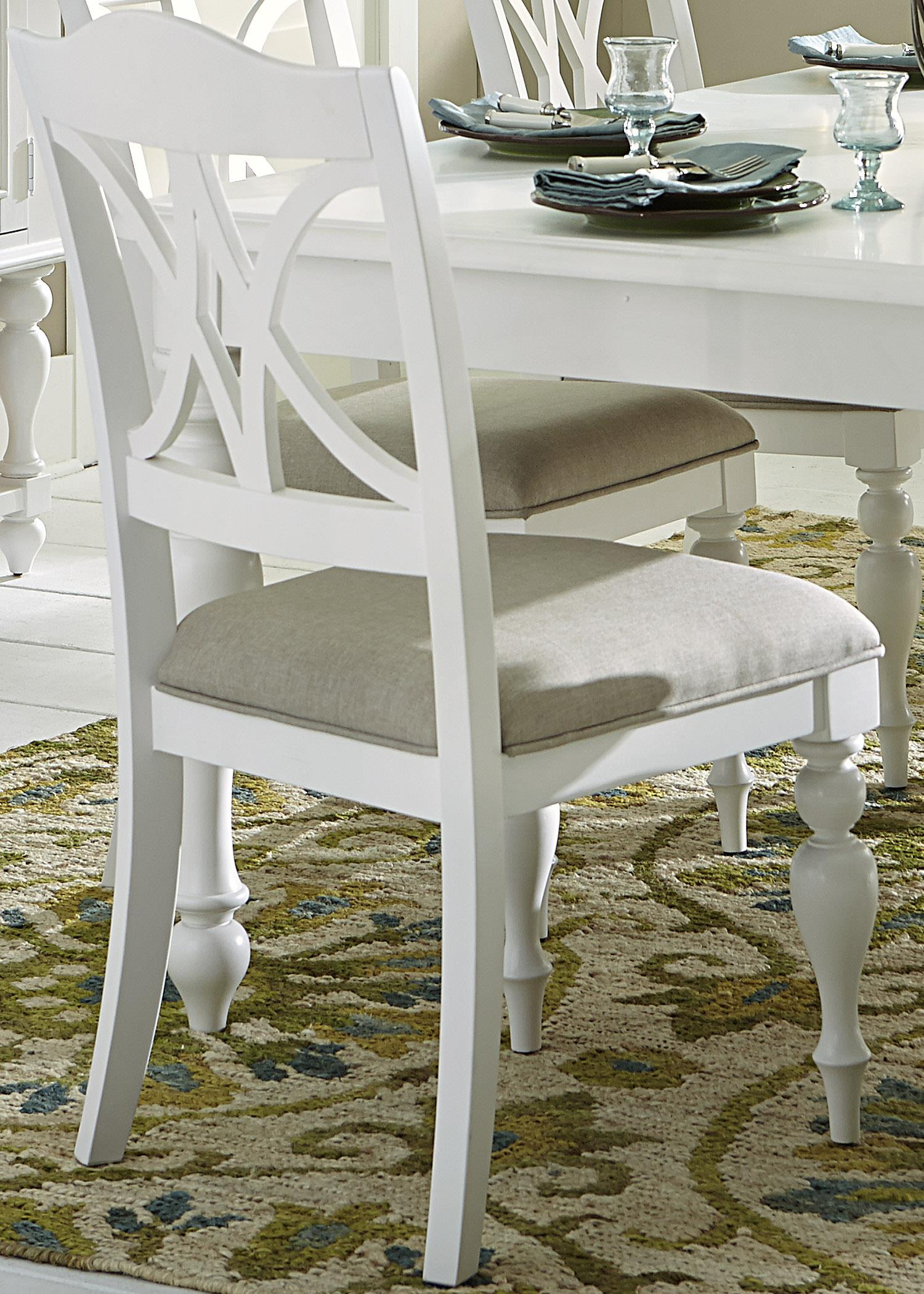 Summer House I Upholstered Side Chair by Libby at Walker's Furniture