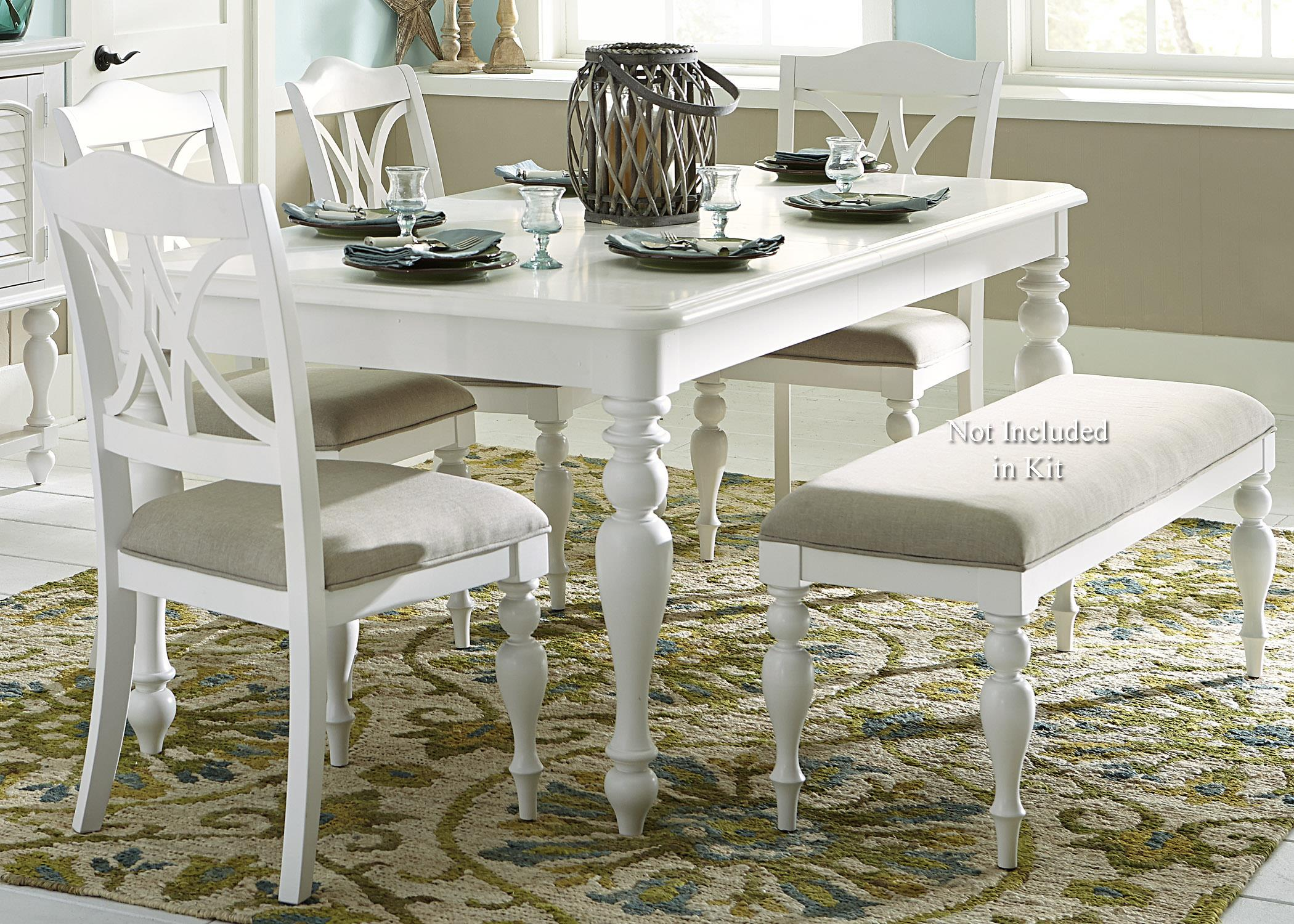 Summer House I 5 Piece Rectangular Table Set  by Libby at Walker's Furniture