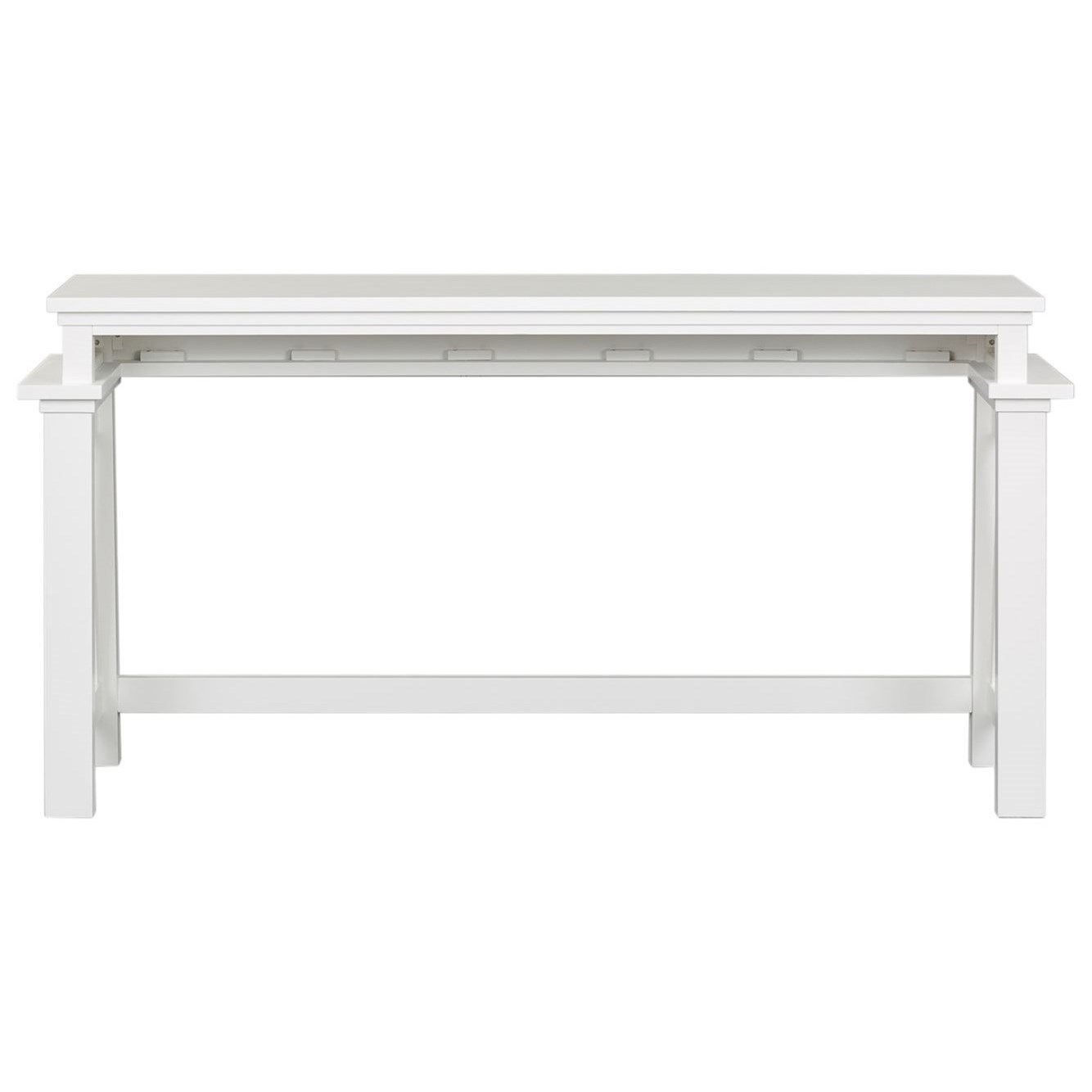 Summer House I Counter Height Console Bar Table by Libby at Walker's Furniture