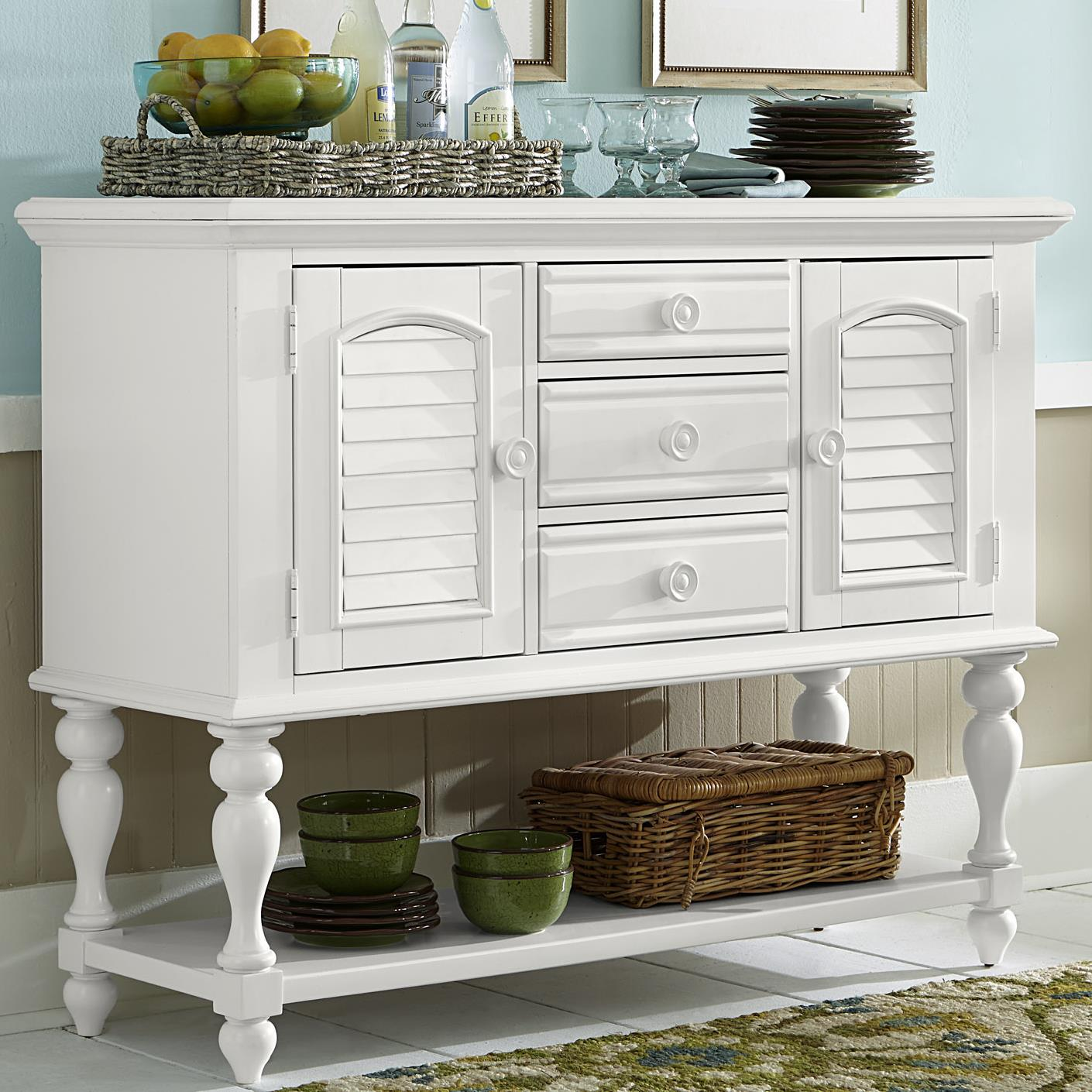 Summer House I Server by Libby at Walker's Furniture