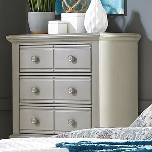 5 Drawer Chest with Top Felt-Lined Drawers