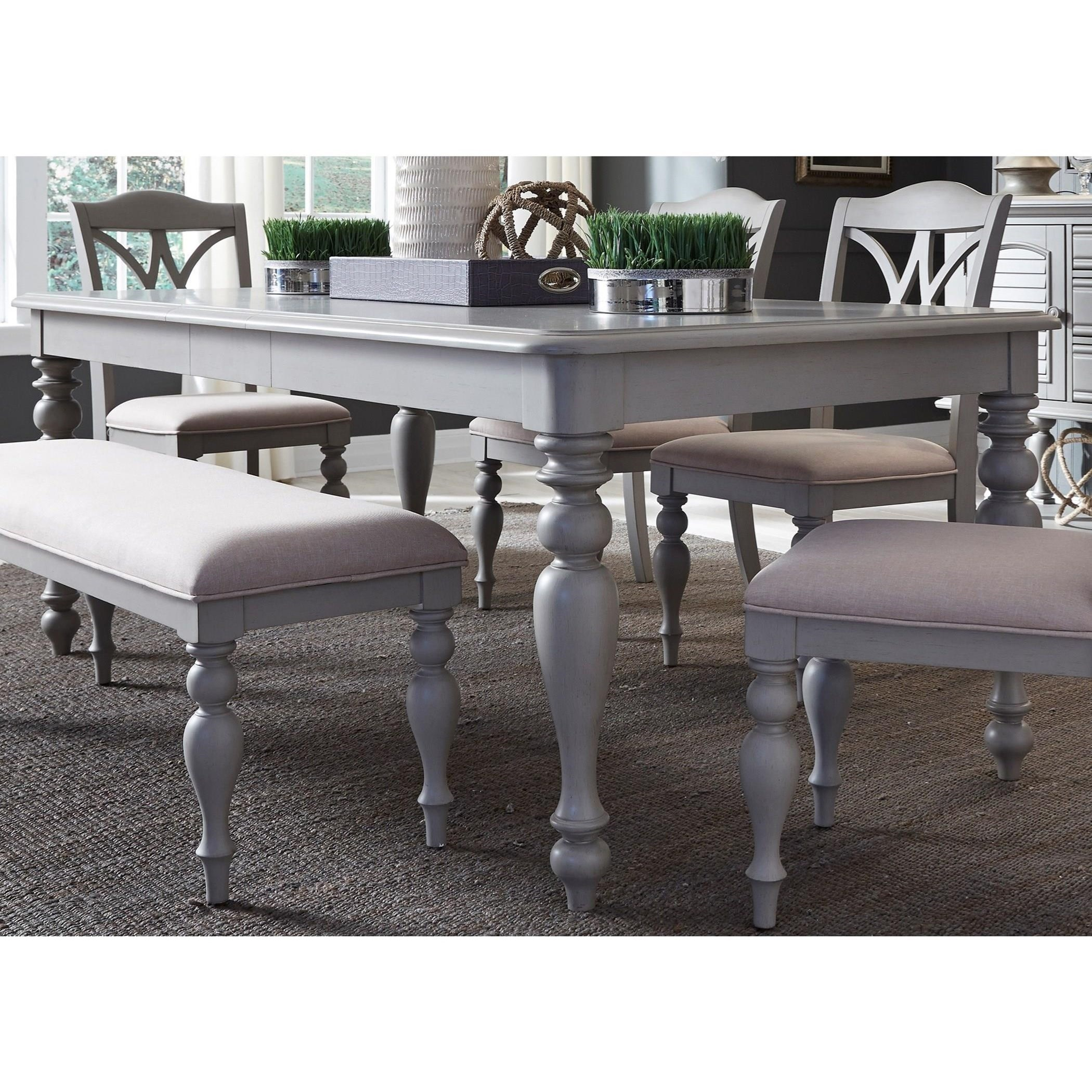 Summer House Dining Rectangular Leg Table by Liberty Furniture at Catalog Outlet