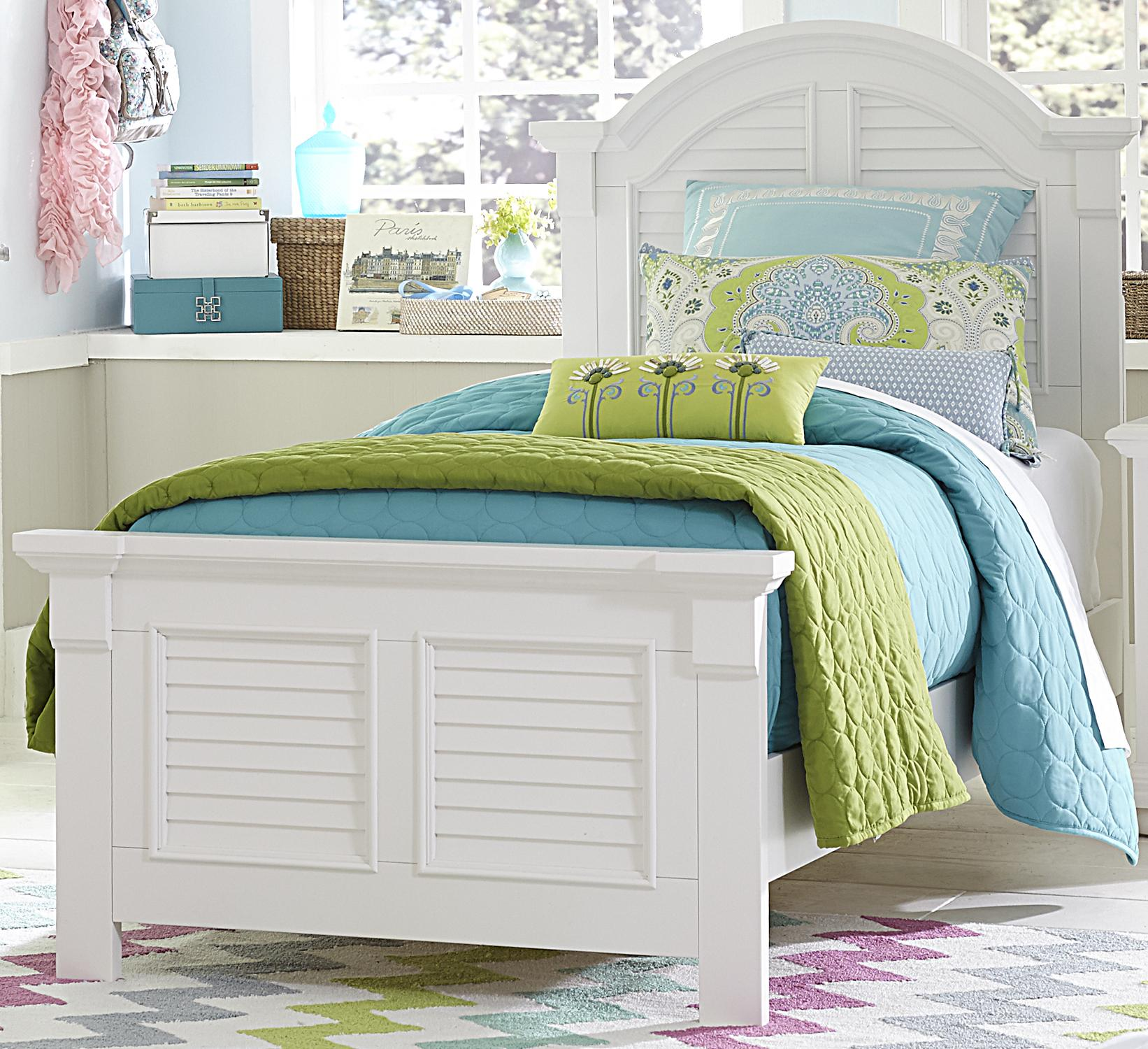 Summer House Twin Panel Bed by Libby at Walker's Furniture