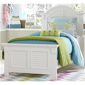 Liberty Furniture Summer House Twin Panel Bed