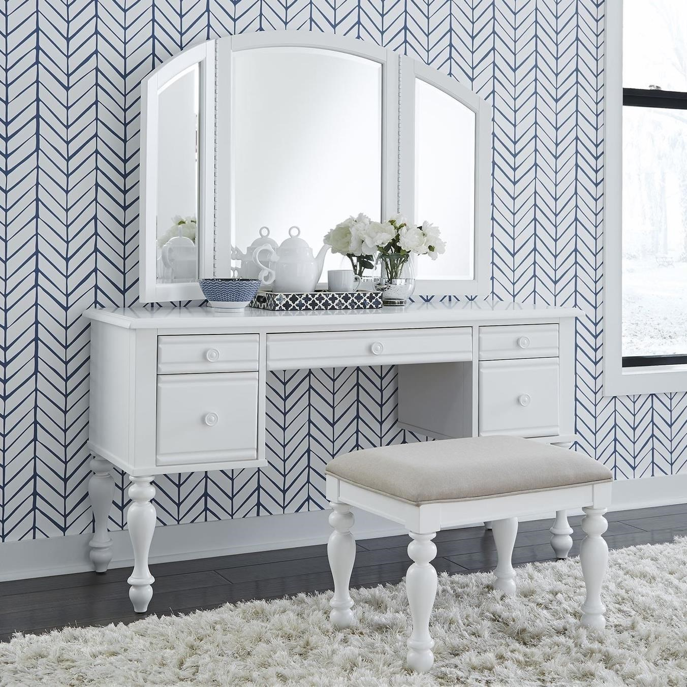 Summer House 3-Piece Vanity Set by Libby at Walker's Furniture