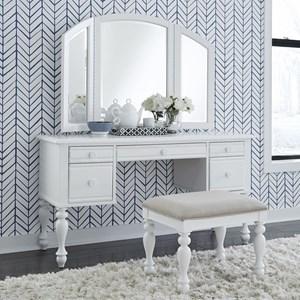 Cottage Style 3-Piece Vanity Set