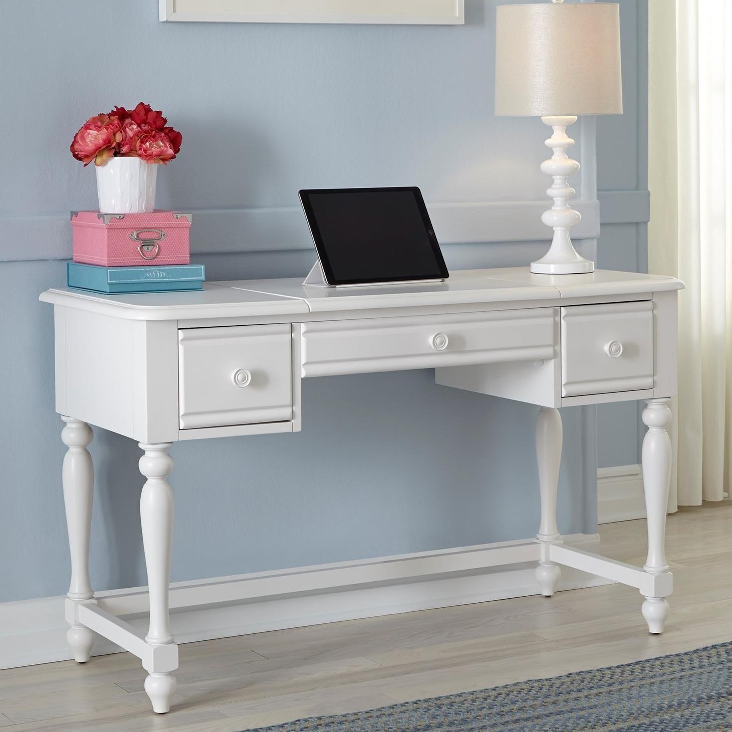 Summer House Vanity Desk by Libby at Walker's Furniture