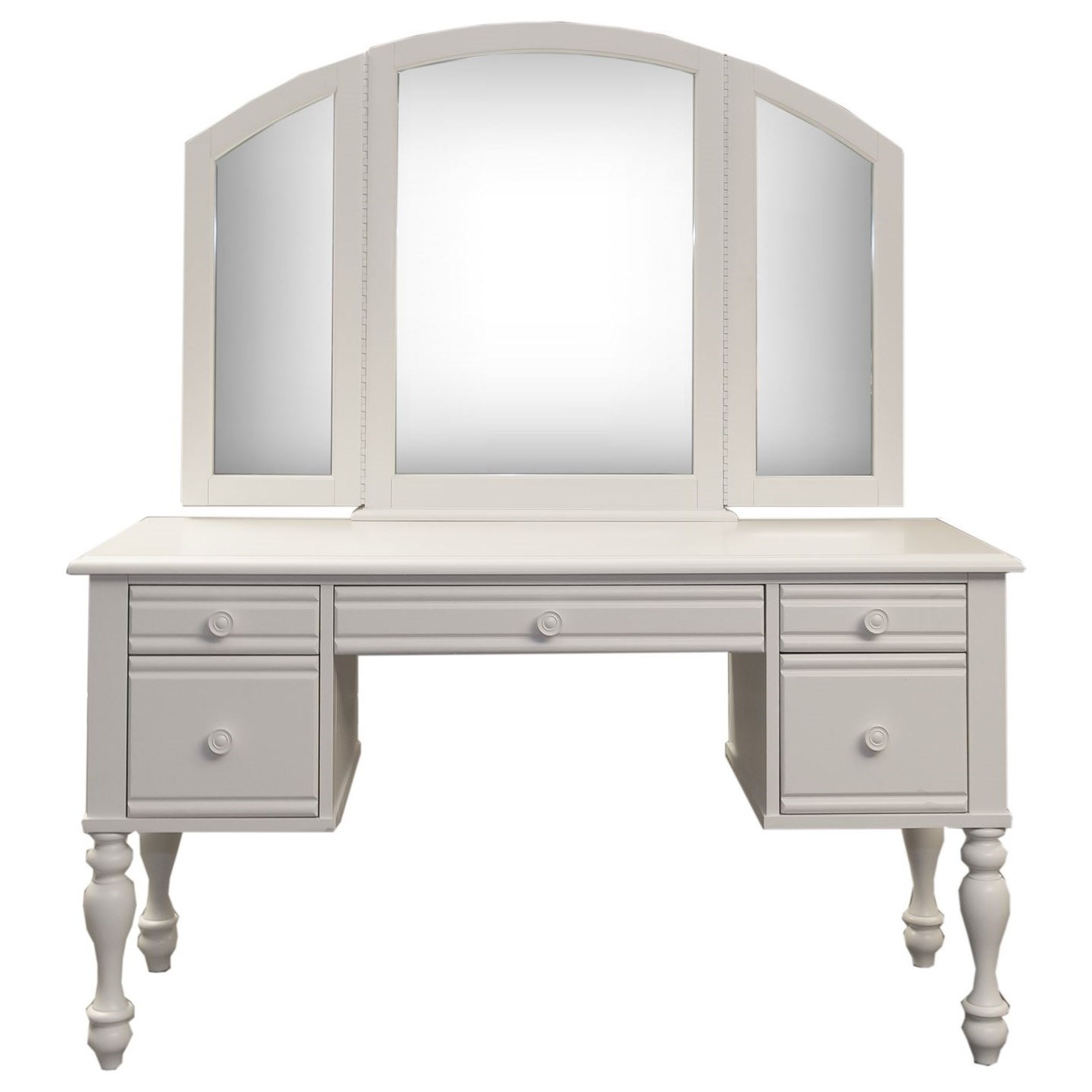 Summer House Vanity and Mirror Set by Liberty Furniture at Standard Furniture