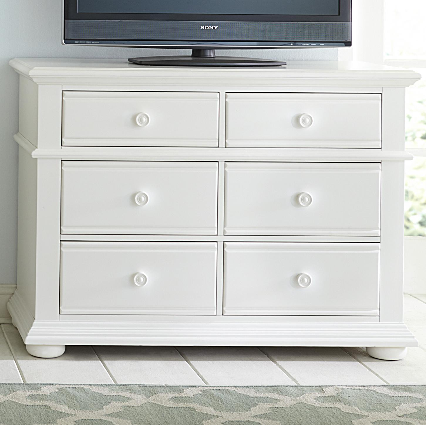Summer House Media Chest by Libby at Walker's Furniture