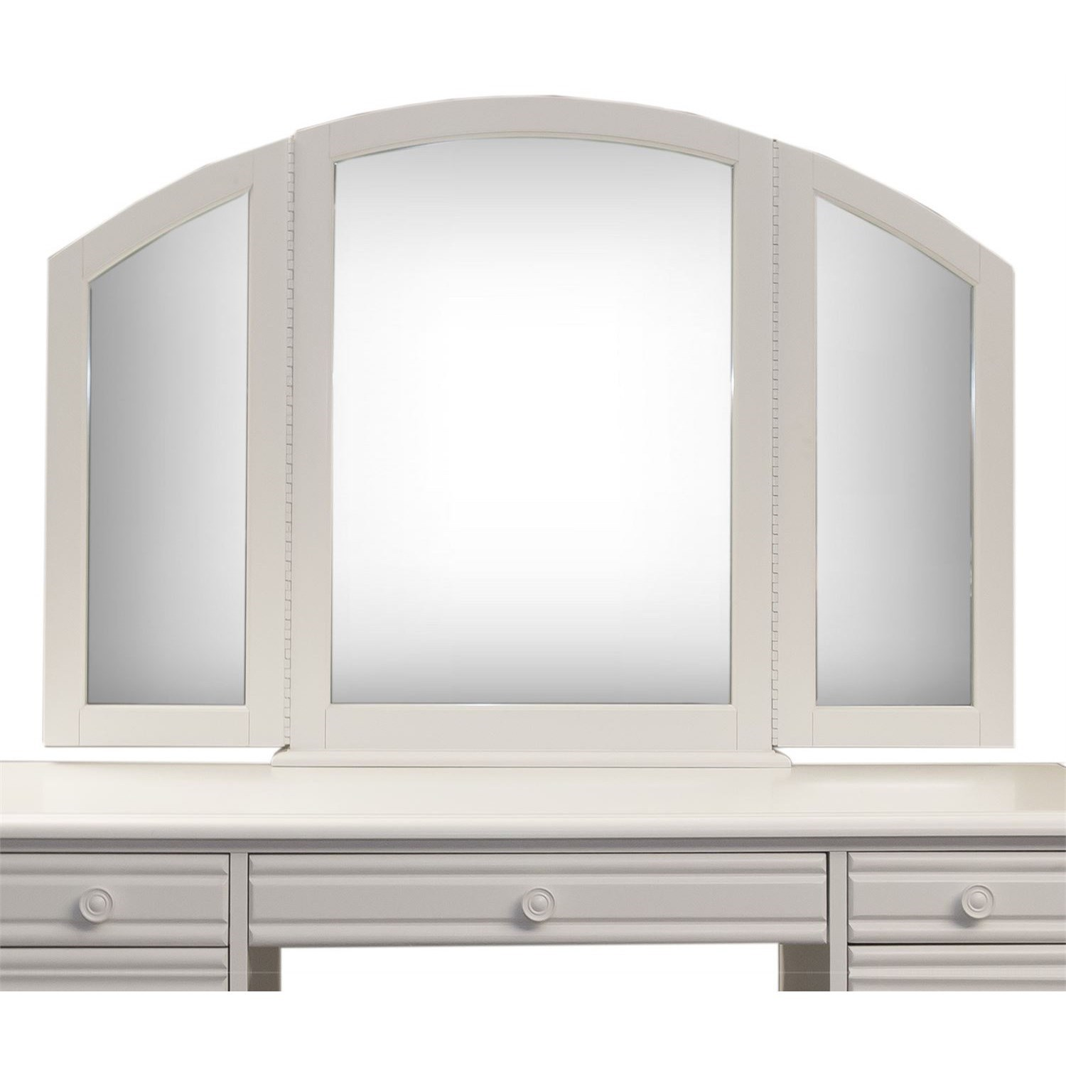 Summer House Vanity Mirror by Freedom Furniture at Ruby Gordon Home