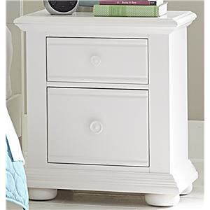 Cottage 2 Drawer Night Stand