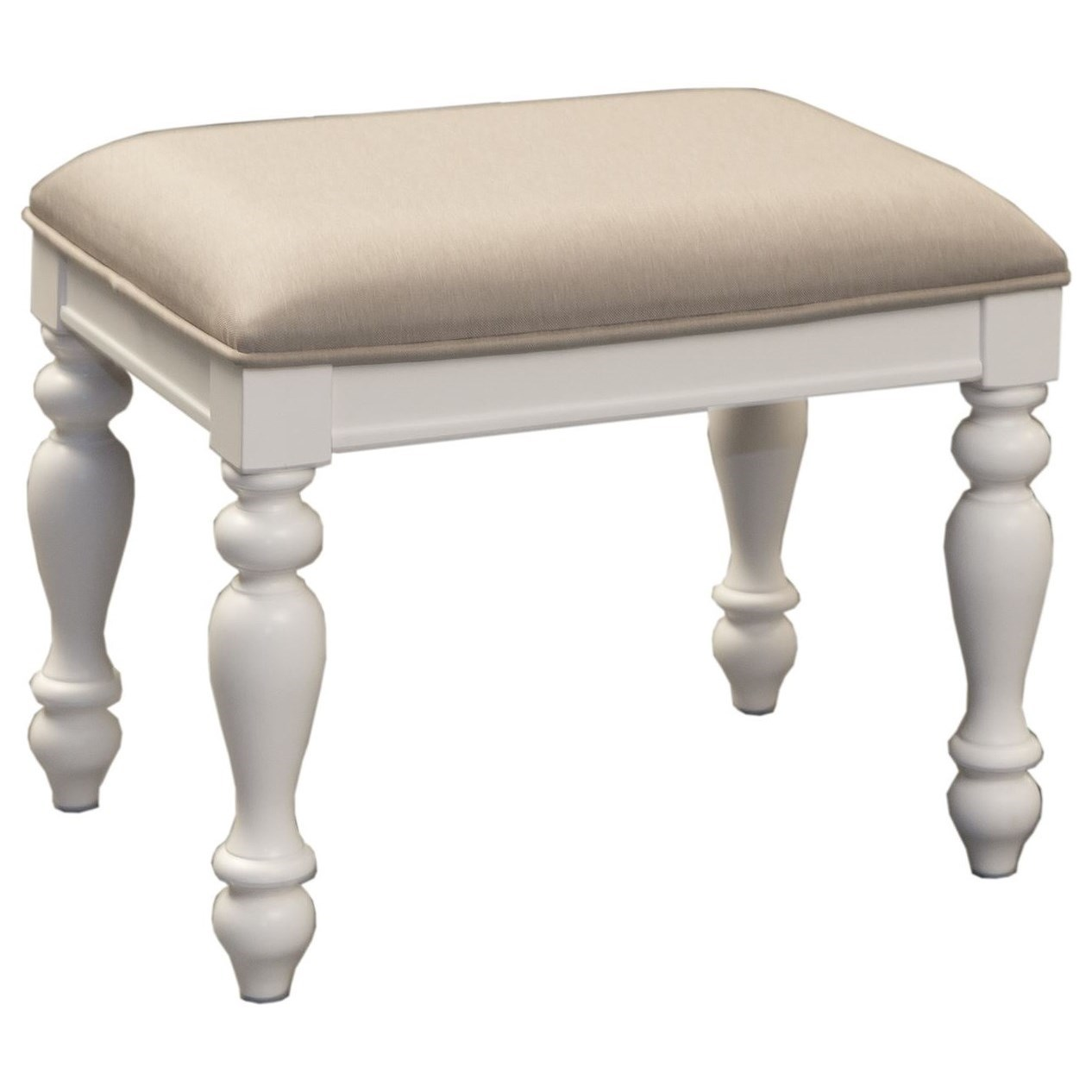 Summer House Vanity Stool by Libby at Walker's Furniture