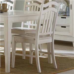 Liberty Furniture Summerhill Slat Back Side Chair