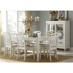 Liberty Furniture Summerhill 7-Piece Dining Set