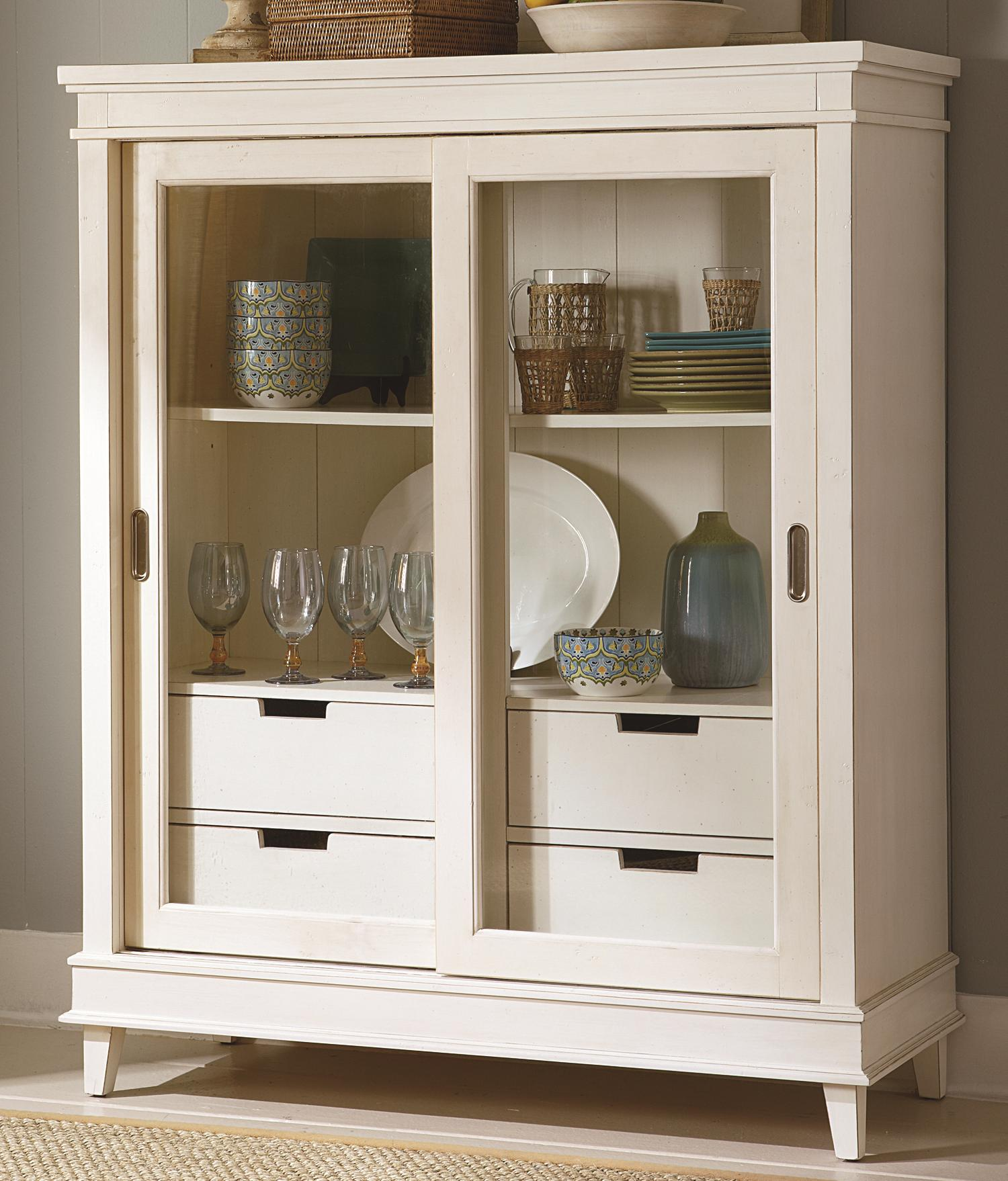 Summerhill Display Cabinet by Liberty Furniture at Lapeer Furniture & Mattress Center