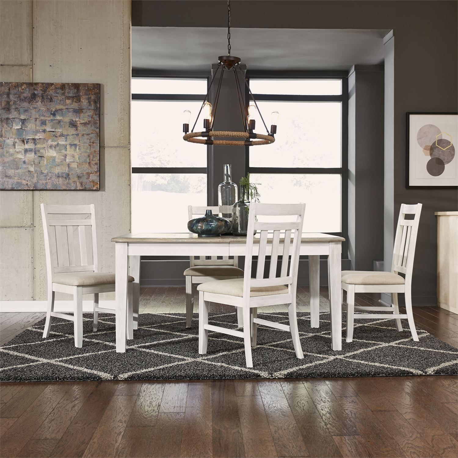 Summerville 5 Piece Rectangular Table Set by Liberty Furniture at Northeast Factory Direct