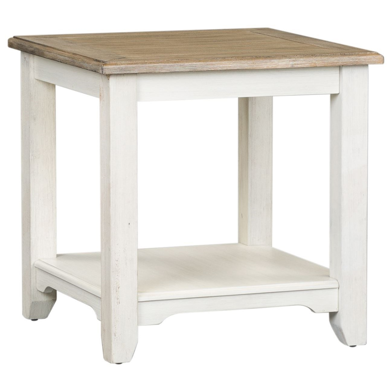 Summerville End Table by Libby at Walker's Furniture