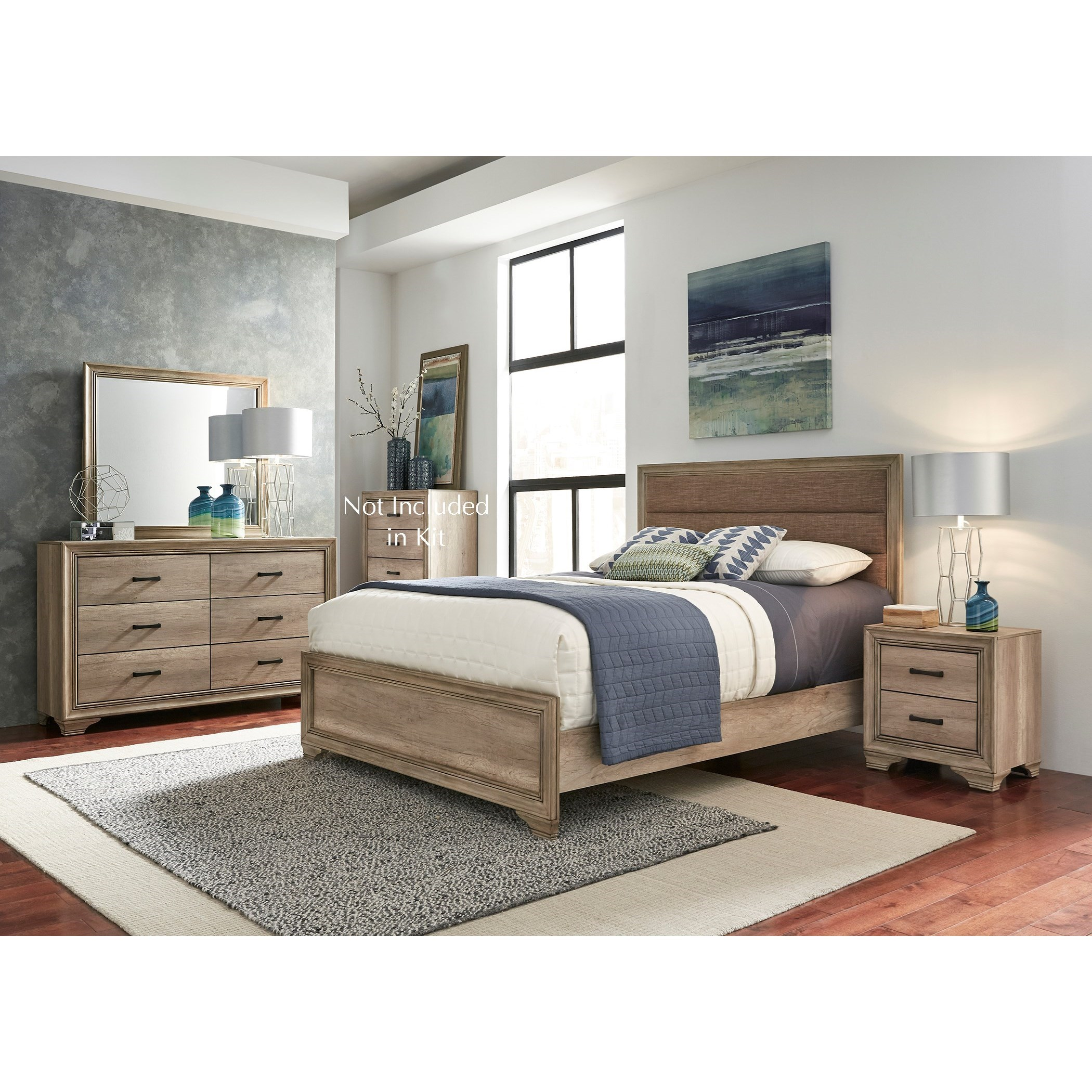 Sun Valley King Bedroom Group by Liberty Furniture at Johnny Janosik