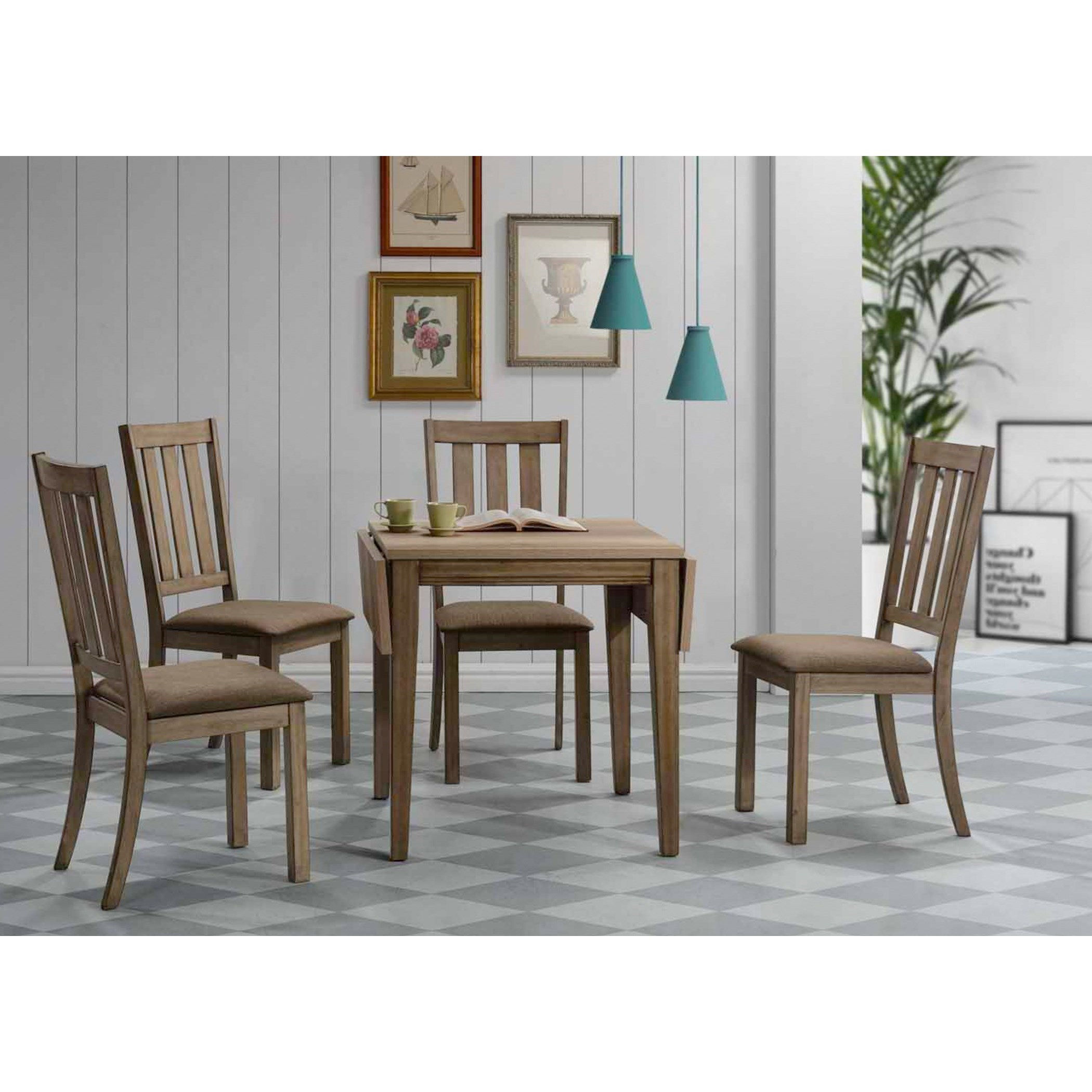 Sun Valley 5 Piece Drop Leaf Set by Libby at Walker's Furniture