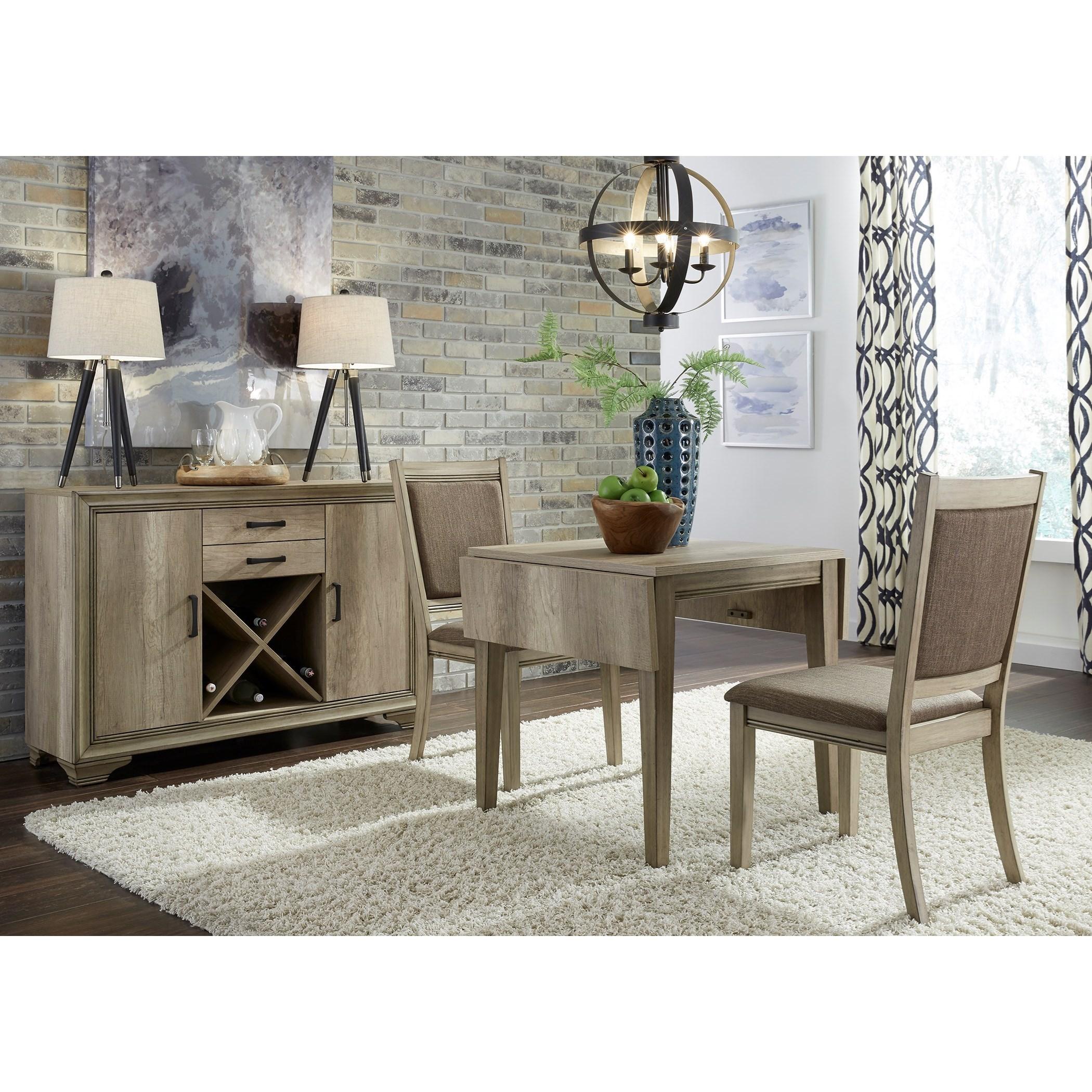 Sun Valley Opt 3 Piece Drop Leaf Set by Liberty Furniture at Lapeer Furniture & Mattress Center