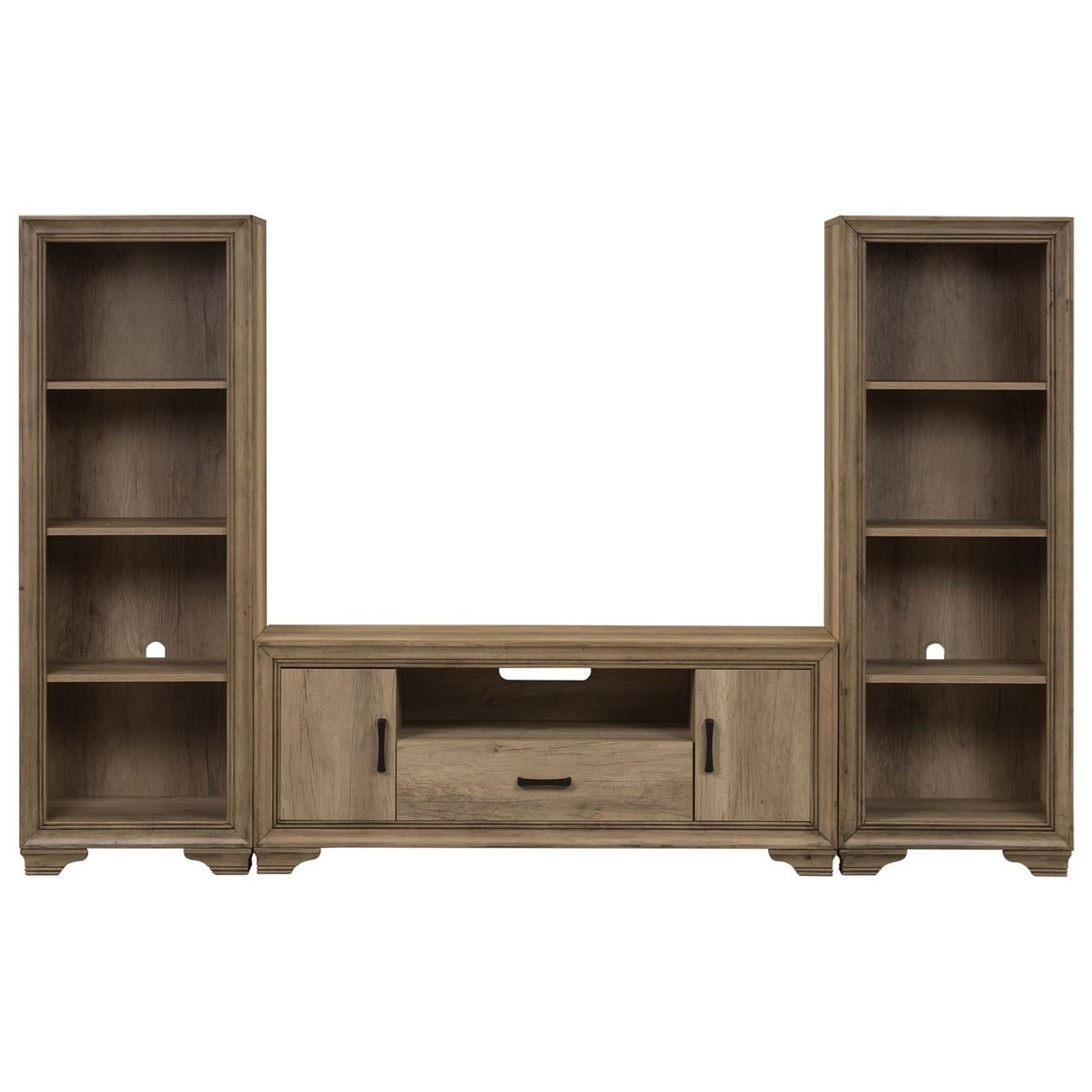 Sun Valley Entertainment Center with Piers by Liberty Furniture at Suburban Furniture