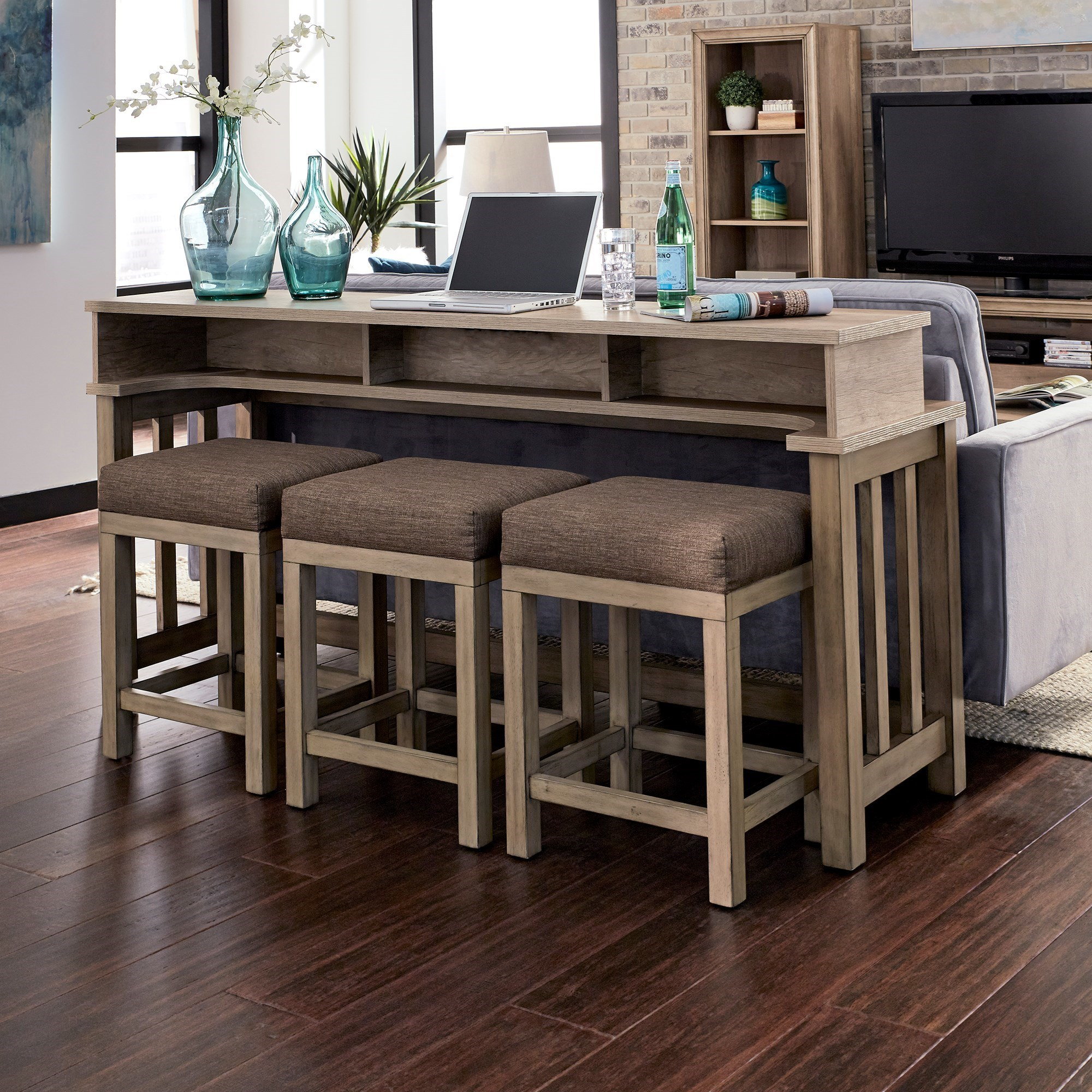 Sun Valley 4-Piece Console Table Set  by Freedom Furniture at Ruby Gordon Home