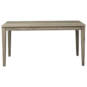Transitional 60 Inch Rectangular Leg Table