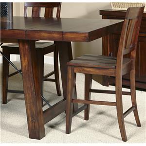 Liberty Furniture Tahoe Slat Back Counter Chair