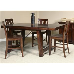 Liberty Furniture Tahoe 5 Piece Gathering Table Set