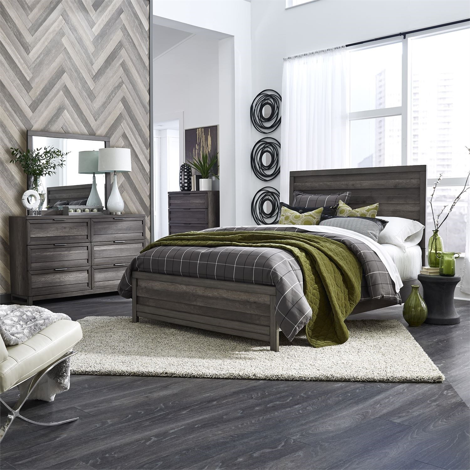 Tanners Creek Twin Bedroom Group by Libby at Walker's Furniture