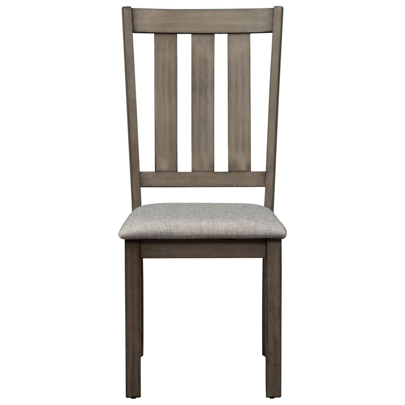 Tanners Creek Slat Back Side Chair by Libby at Walker's Furniture