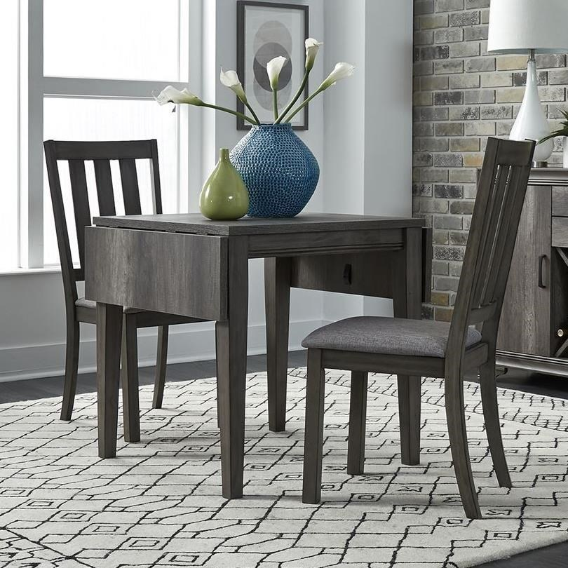 Tanners Creek 3 Piece Drop Leaf Set  by Libby at Walker's Furniture