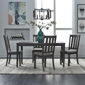 5 Piece Rectangular Table and Chair Set