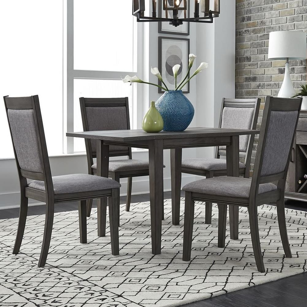 Tanners Creek 5 Piece Drop Leaf Table and Chair Set  by Liberty Furniture at Johnny Janosik