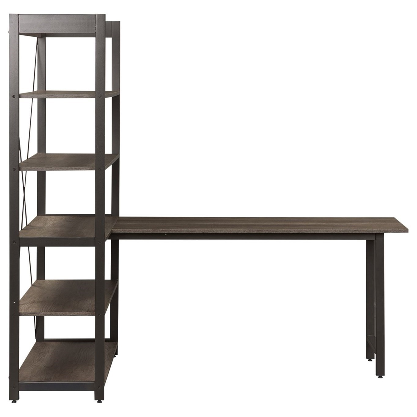 Tanners Creek Desk and Bookcase Set by Liberty Furniture at Stoney Creek Furniture