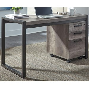 Contemporary Writing Desk with Open Ends